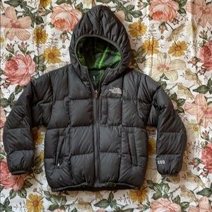 Boys North Face Reversible Down Jacket